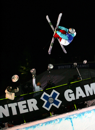 Tanner Hall airs it out at the X-Games in Aspen - Photo: Casey Day