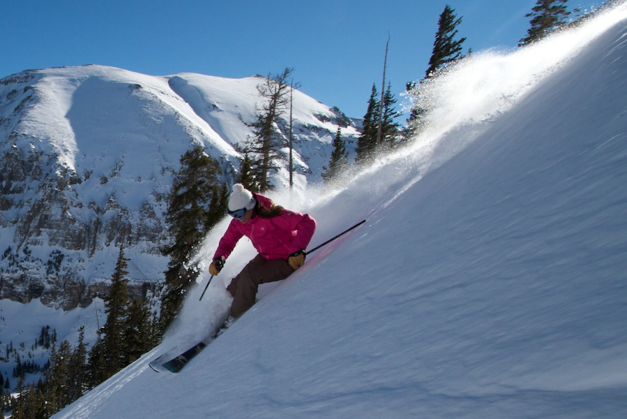 Kim Havel at Telluride - Photo: Casey Day